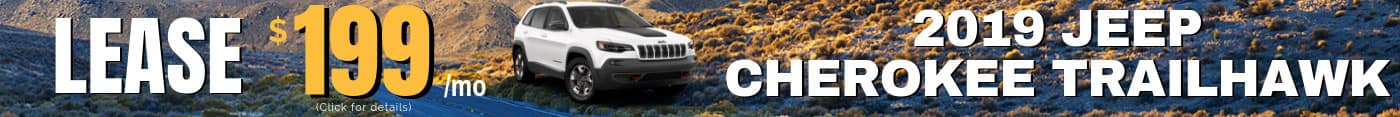 2019 Jeep Cherokee - Click for Lease Details