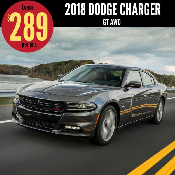 2018 Dodge Charger Lease Deal
