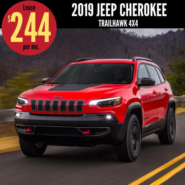 2019 Jeep Cherokee Lease Deal