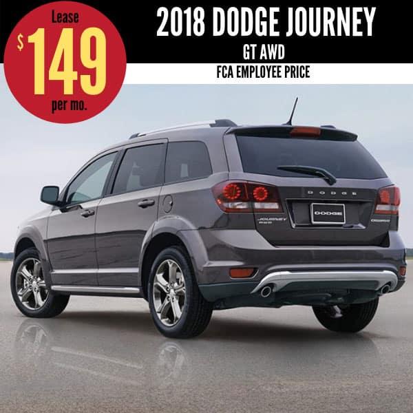 2018 Dodge Journey Lease Deal