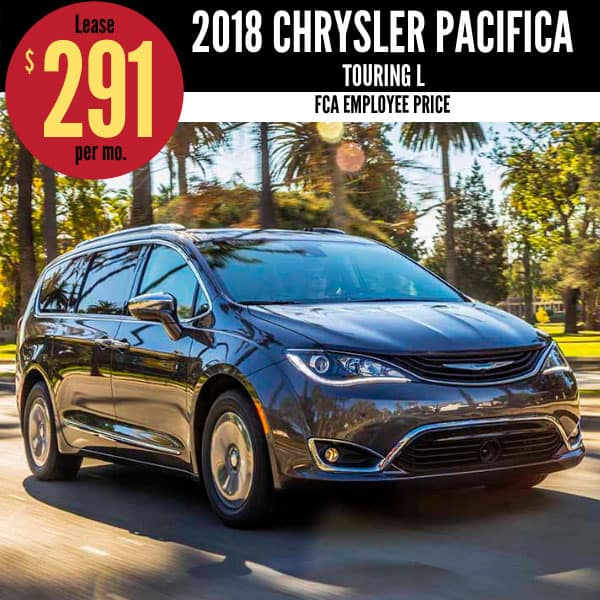 2018 Chrysler Pacifica Lease Deal