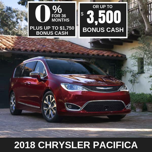 2018 Chrysler Pacifica on sale, Noblesville IN