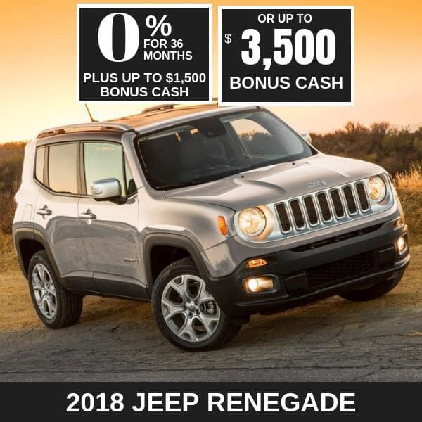 2018 Jeep Renegade Latitude on sale, Noblesville IN
