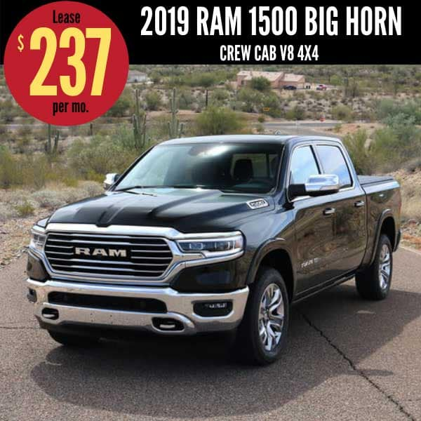 Best 2019 Ram 1500 Lease Deals