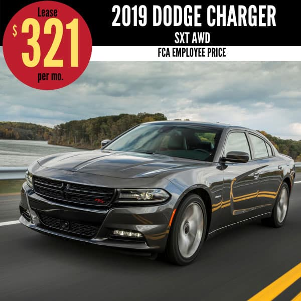2019 Dodge Charger Lease Deal