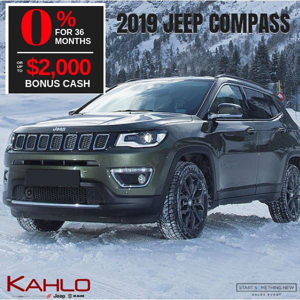 2019 Jeep Compass on sale, Noblesville IN