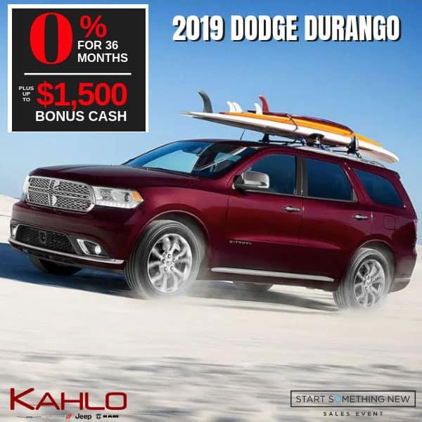 2019 Dodge Durango on sale, Noblesville IN
