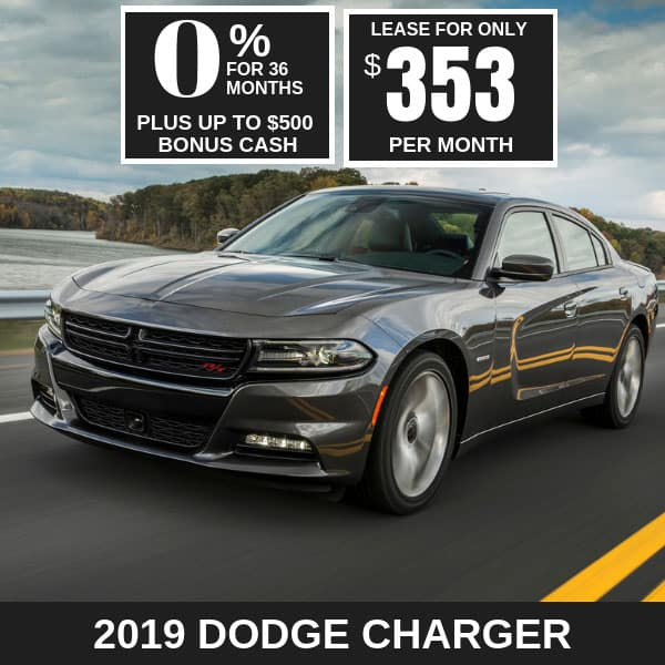 2019 Dodge Charger Monthly Deals