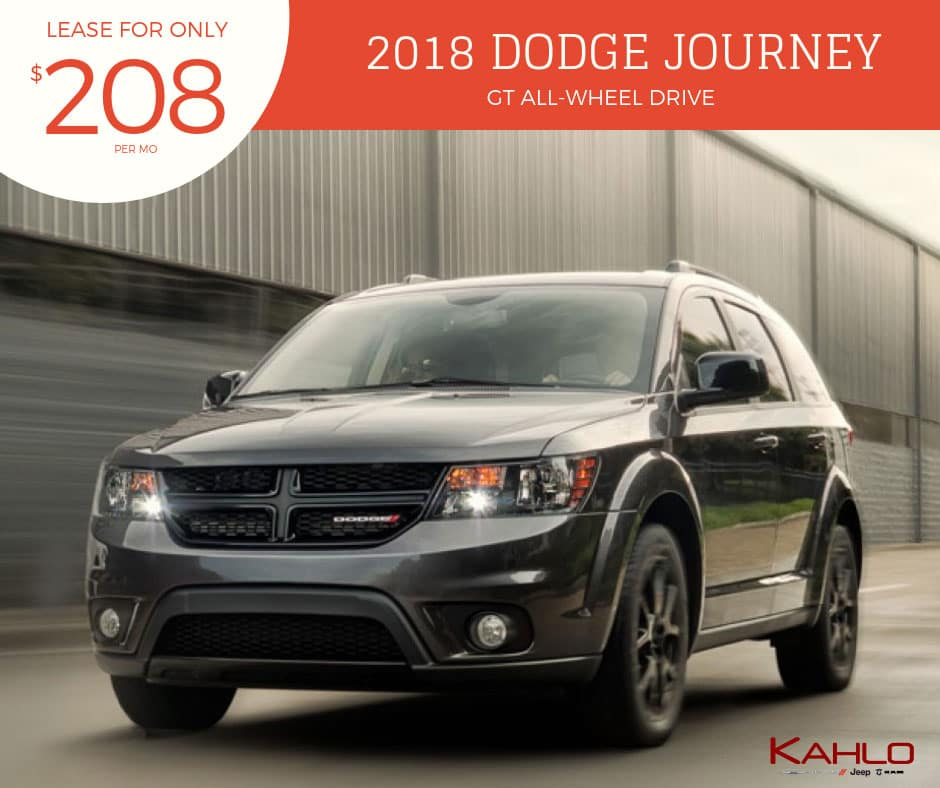2018 Dodge Journey Lease Deal