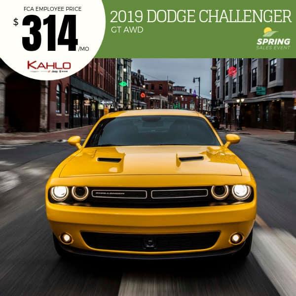 2019 Dodge Challenger Lease Deal