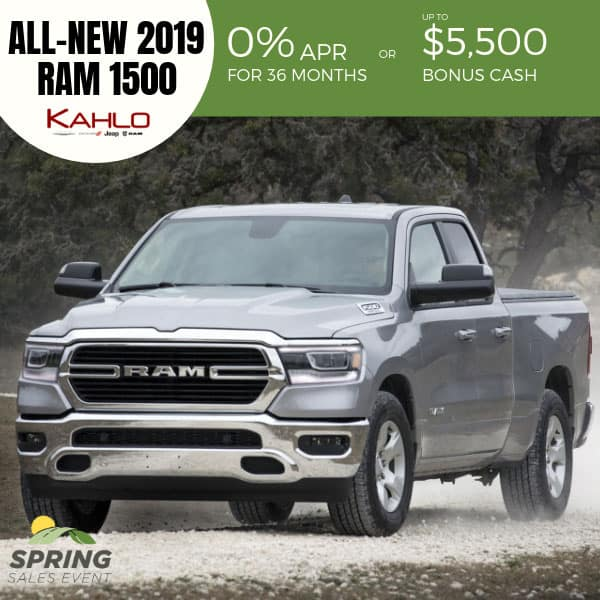 All-New 2019 Ram 1500 on sale, Noblesville IN