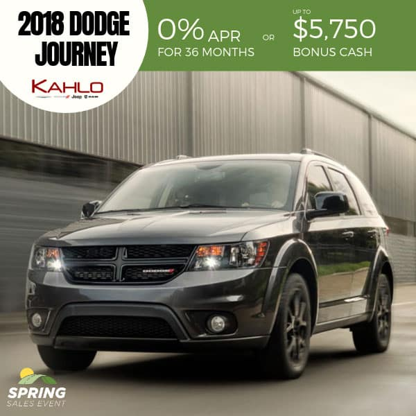 2018 Dodge Journey on sale, Noblesville IN