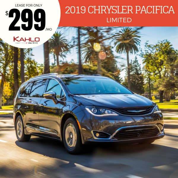 2019 Chrysler Pacifica Lease Deal
