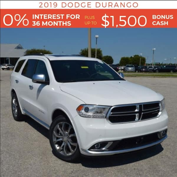 2019 Dodge Durango on sale, Noblesville IN