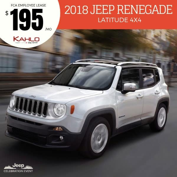 2018 Jeep Renegade Lease Deal