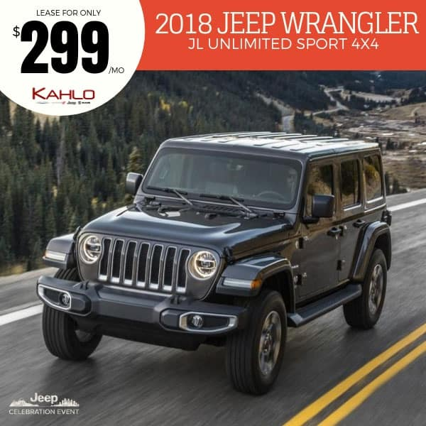 Jeep Wrangler Lease Deals May 2018