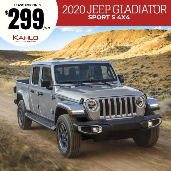 2020 Jeep Gladiator Lease Deal
