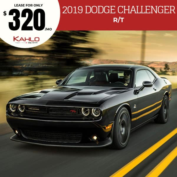 2019 Dodge Challenger Lease Deal