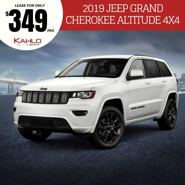 2019 Jeep Grand Cherokee Altitude Lease Deal
