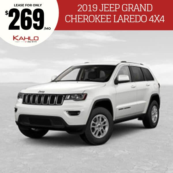2019 Jeep Grand Cherokee Laredo Lease Deal