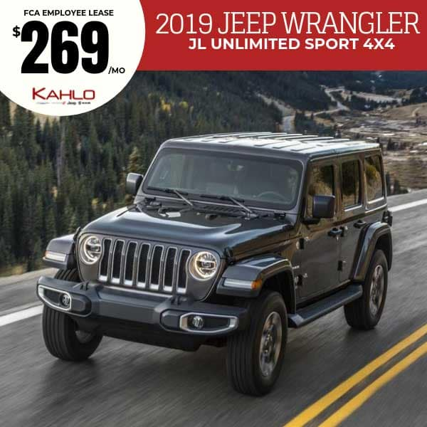 2019 Jeep Wrangler Lease Deal