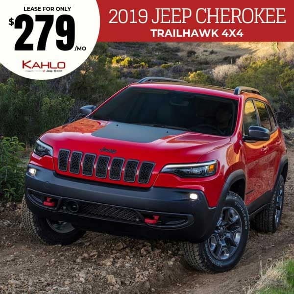 Jeep Cherokee Lease >> Vehicle Lease Specials Kahlo Chrysler Dodge Jeep Ram In