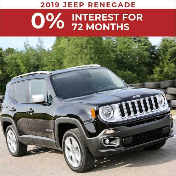 2019 Jeep Renegade on sale, Noblesville IN