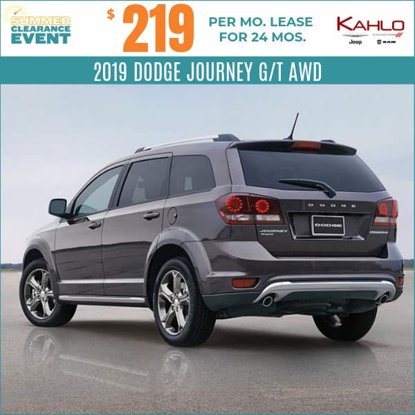 Vehicle Lease Deals >> Vehicle Lease Specials Kahlo Chrysler Dodge Jeep Ram In