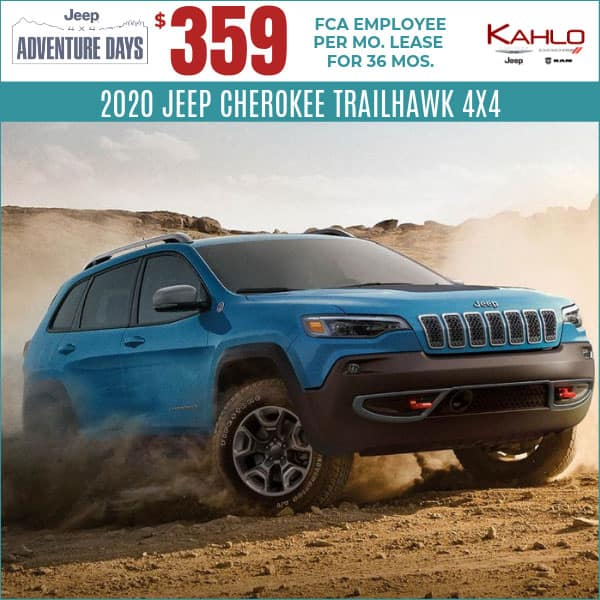 2020 Jeep Cherokee Lease Deal