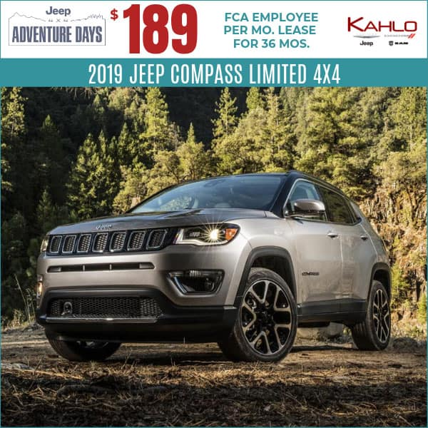 2019 Jeep Compass Lease Deal