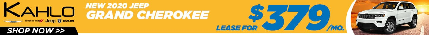 Jeep Grand Cherokee Lease Deal