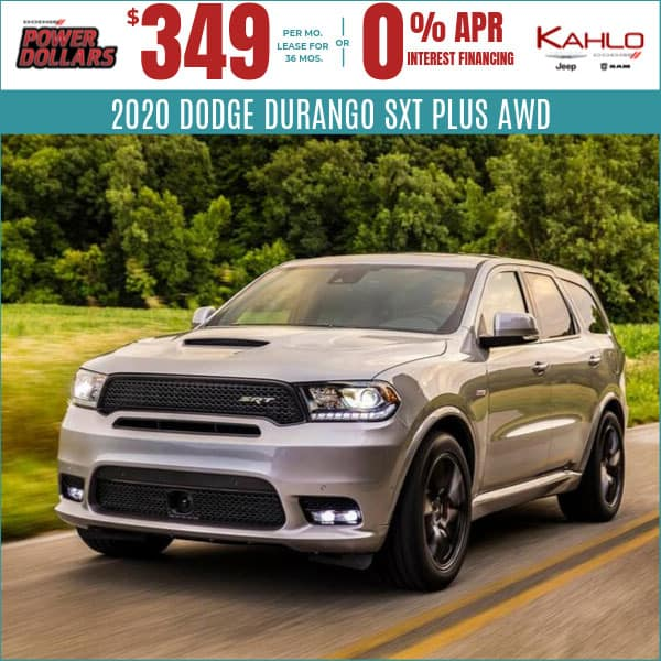 2020 Dodge Durango Deals