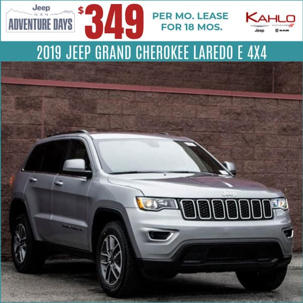 2019 Jeep Grand Cherokee Lease Deal