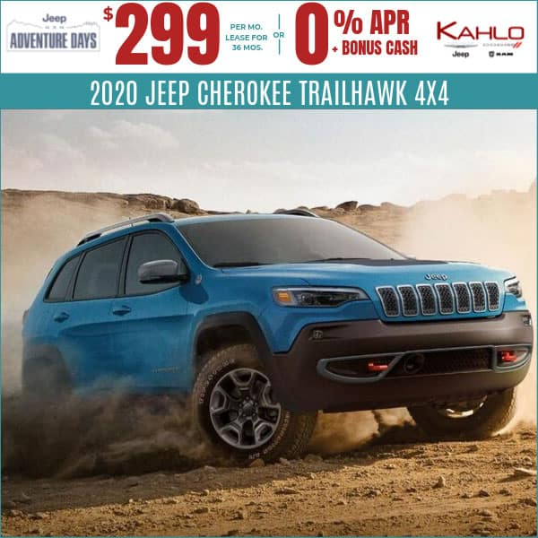 2020 Jeep Cherokee Deals