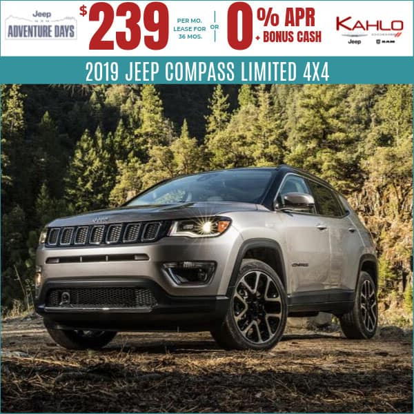 2019 Jeep Compass Deals