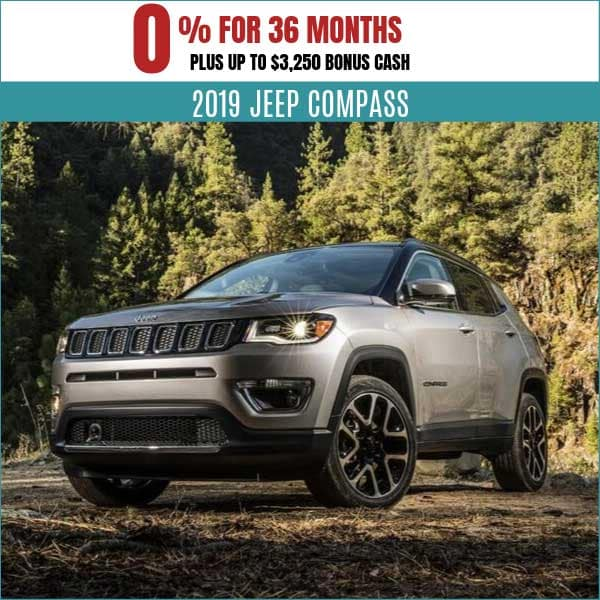 2019 Jeep Compass Finance Deal