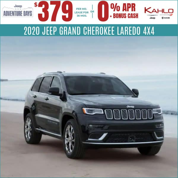 2020 Jeep Grand Cherokee Deals