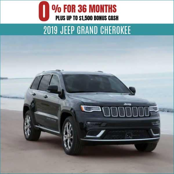 2019 Jeep Grand Cherokee Finance Deal