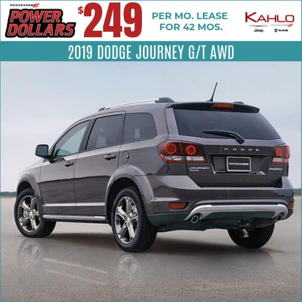 2019 Dodge Journey Lease Deal