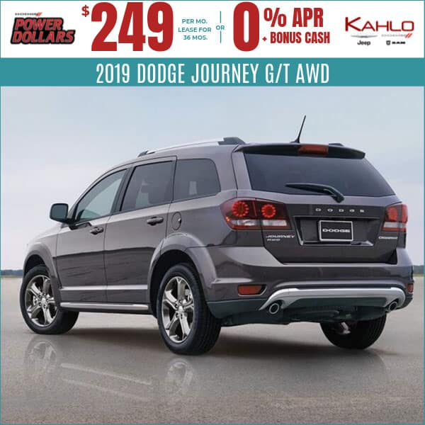 2019 Dodge Journey Deals