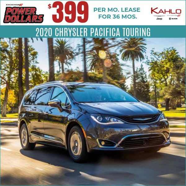 2020 Chrysler Pacifica Lease Deal