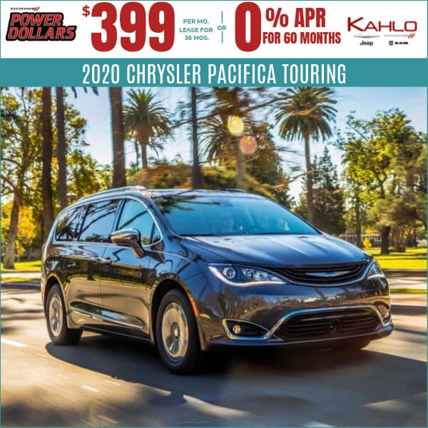 2020 Chrysler Pacifica Deals