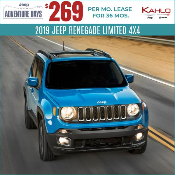 2019 Jeep Renegade Lease Deal