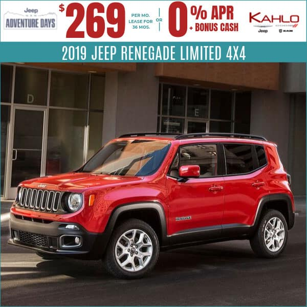 2019 Jeep Renegade Deals