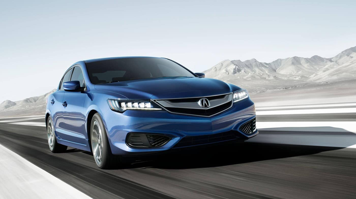 2018 Acura ILX Blue Front View