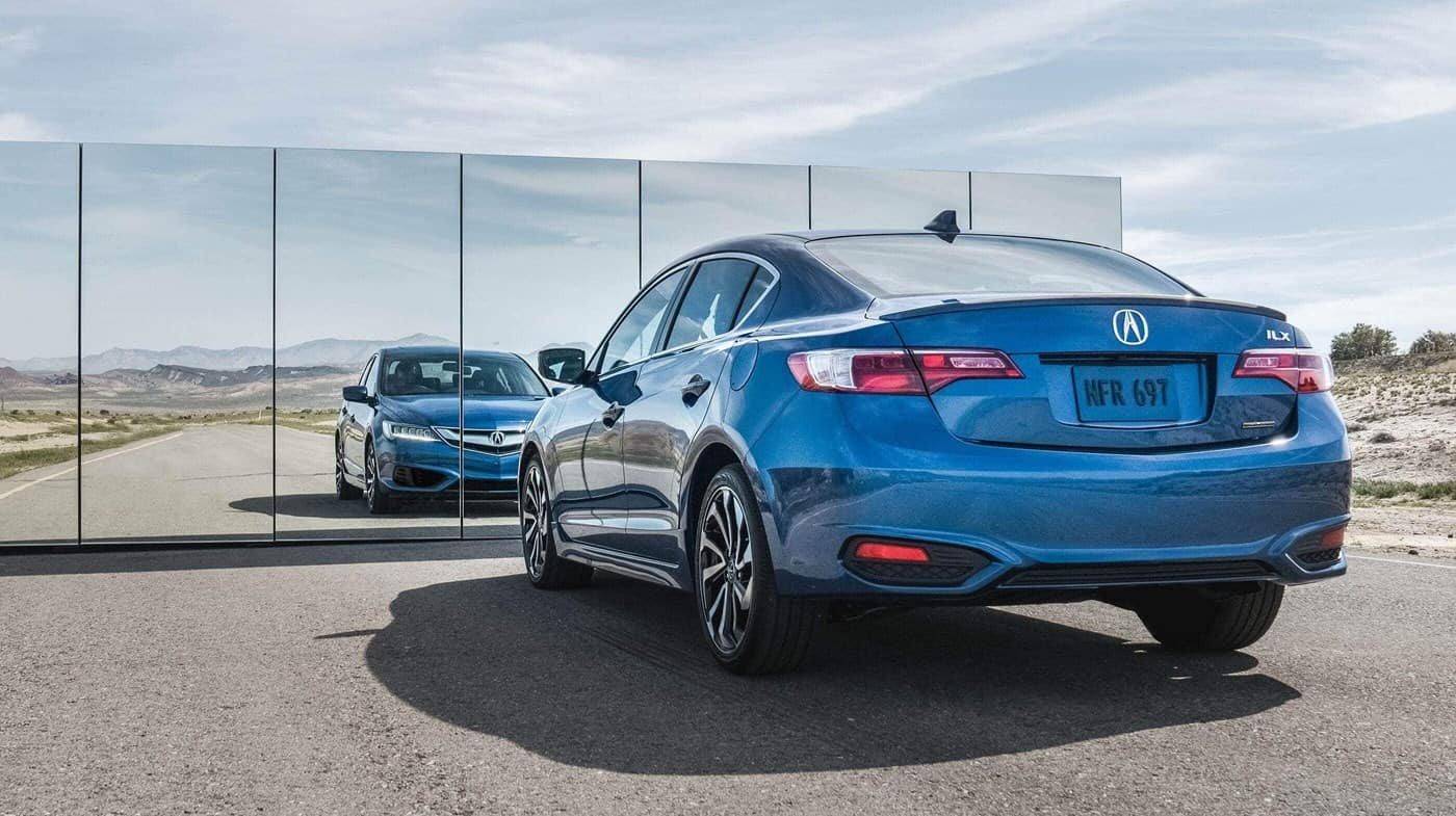 2018 Acura ILX In Front Of Mirror