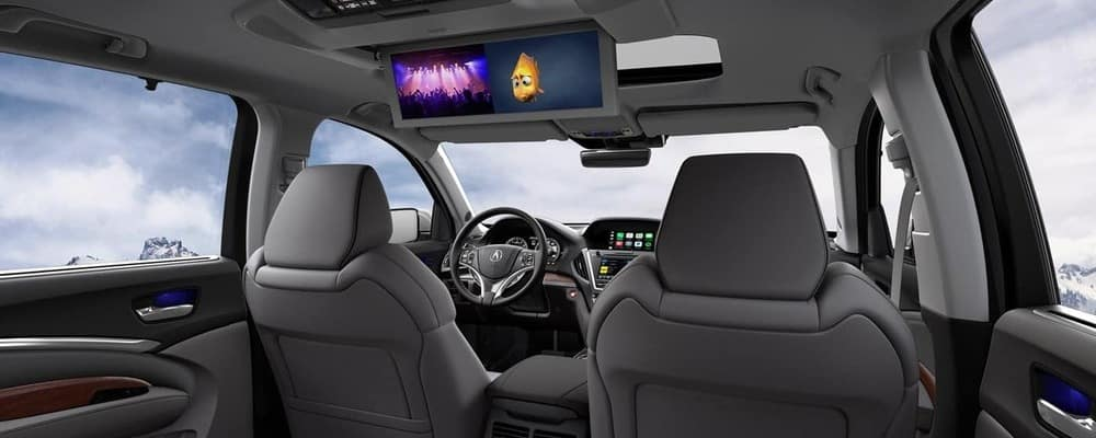 2018 Acura MDX Backseat