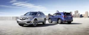 2018 Acura RDX Blue and Gray