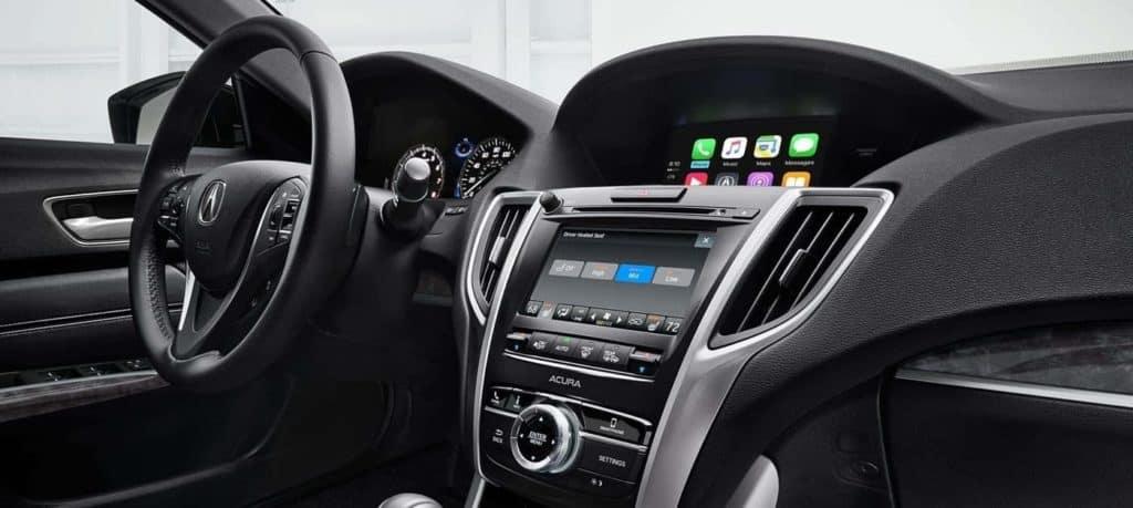 2018 Acura TLX Interior Console
