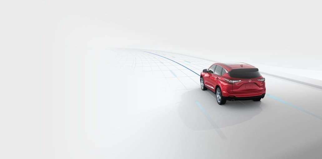 2019 Acura RDX Adaptive Lane Guidance